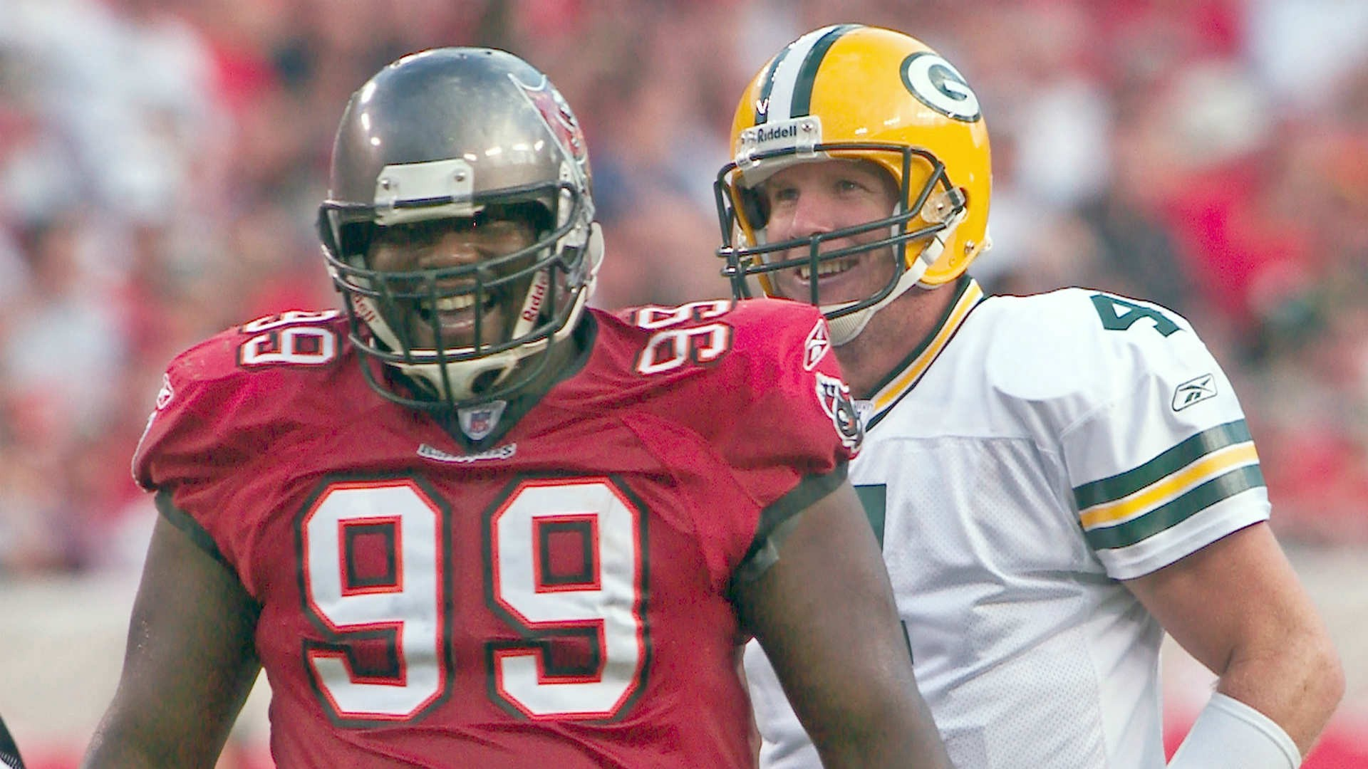 Remember Brett Favre and Warren Sapp? Hopefully Packers vs. Bucs in Week 6 is just as fun as the good old days…