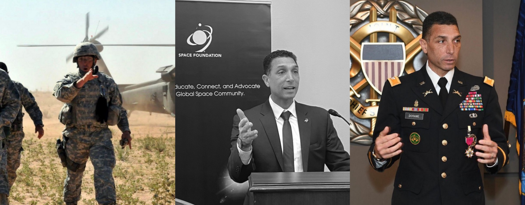 """Space Foundation VP Thomas Dorame: """"How To Survive And Thrive During A Time Of Crisis; 5 Lessons I Learned From My Military Experience"""""""