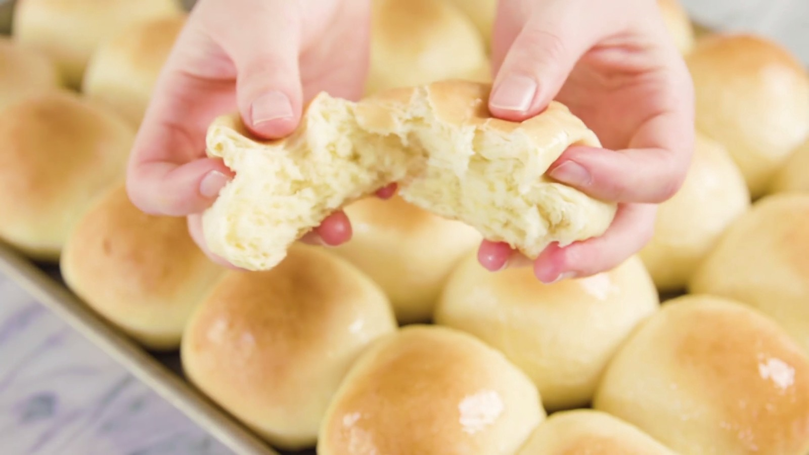 How To Make Best Homemade Rolls For Dinner or Lunch