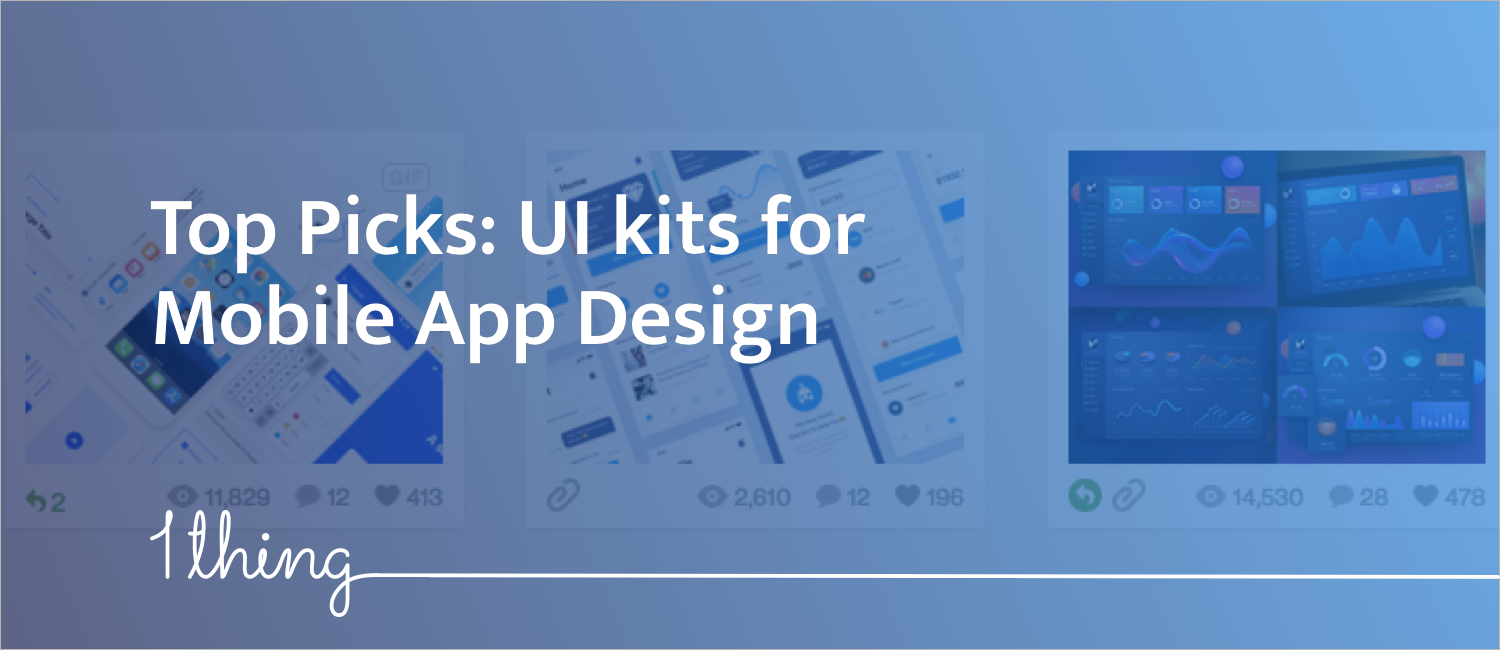 Most Popular UI Kits that you can use for free - onething - Medium