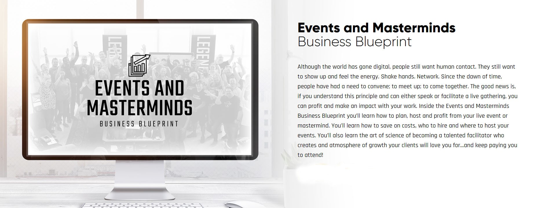 Events and Masterminds Business Blueprint Print-screen