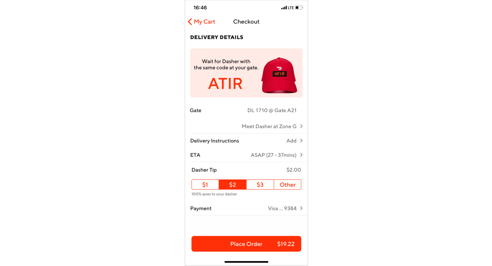 My DoorDash Redesign: Introducing GateDash, food delivery at the