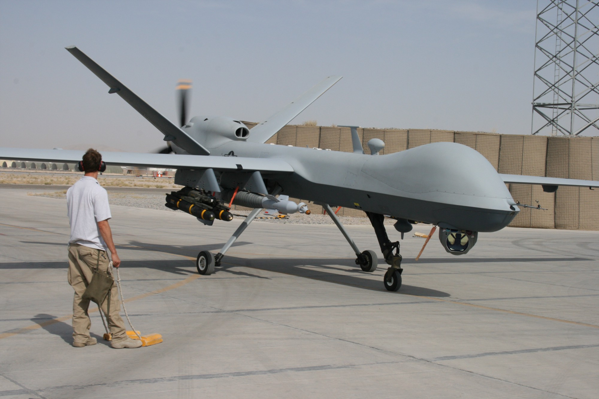 predator drone It's funny because predator drone strikes in pakistan have killed literally hundreds of completely innocent civilians, and now the president is evincing a casual disregard for those lives he is.