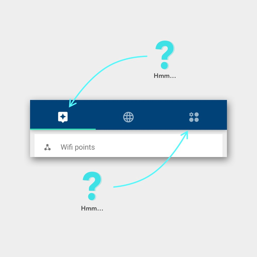 Why your tab bar needs text, not just icons - UX Collective