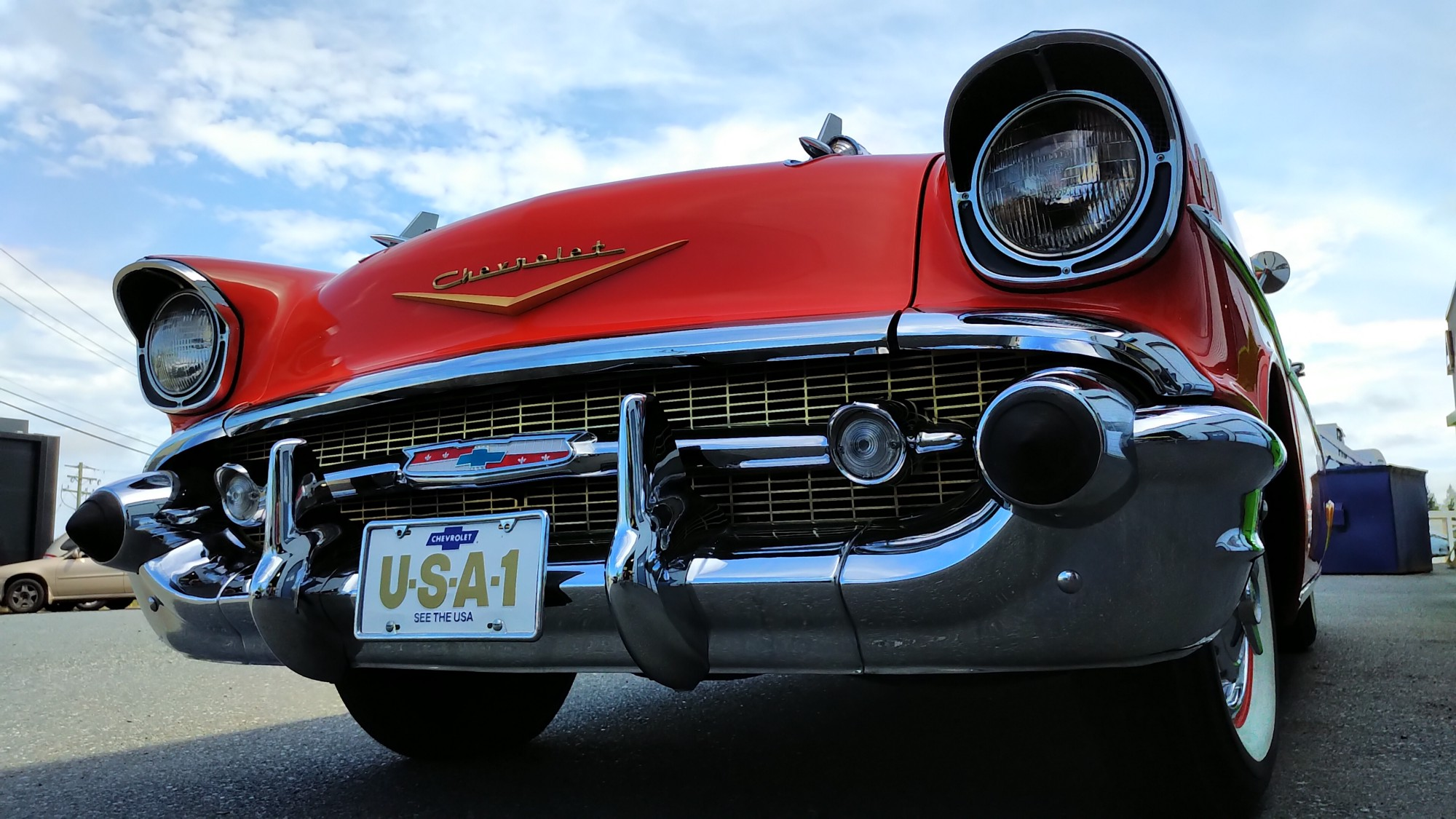 A 1957 Chevrolet Bel Air is considered and American Classic. Should it be converted to electric? www.canev.com