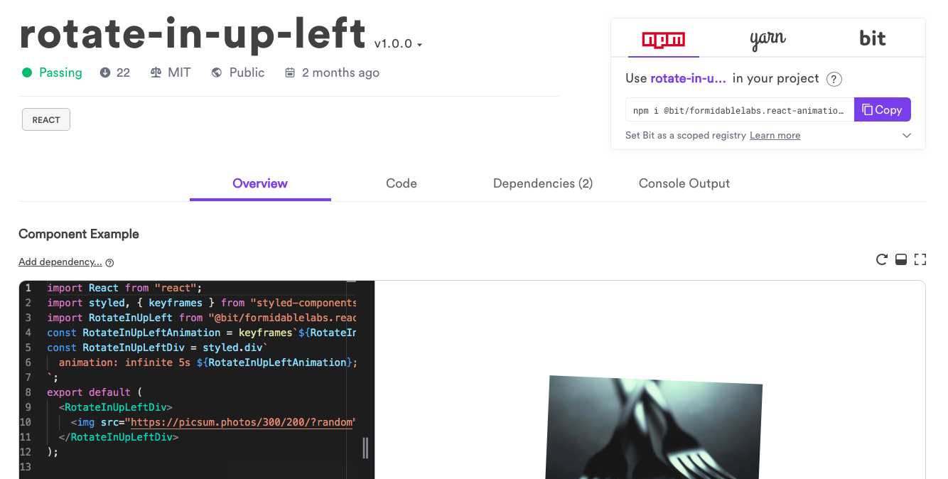 Shared Component Library: Share Reusable Components