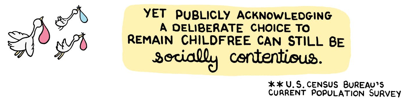 Childfree Is A Legitimate Choice - The Nib - Medium