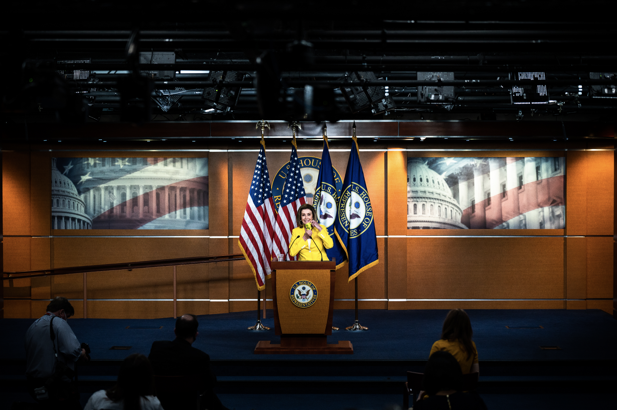 Behind-the-scenes photos of the week April 25—May 1, 2021. United States Capitol, Washington, DC