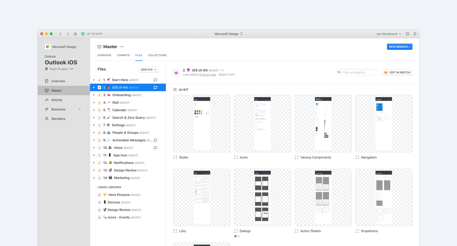 Abstracting the Microsoft Outlook Design Process - Microsoft Design