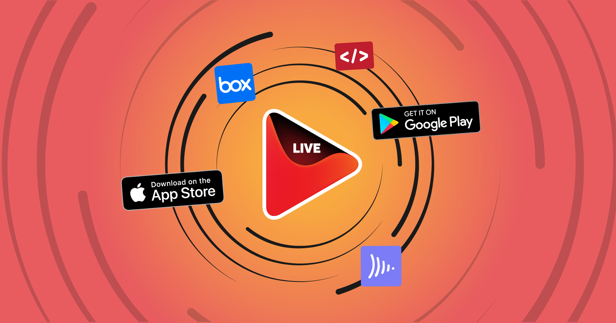 OneStream Live new version, embed player, box storage, frame.io, goole play, app store, onestream android app, ios, live stream
