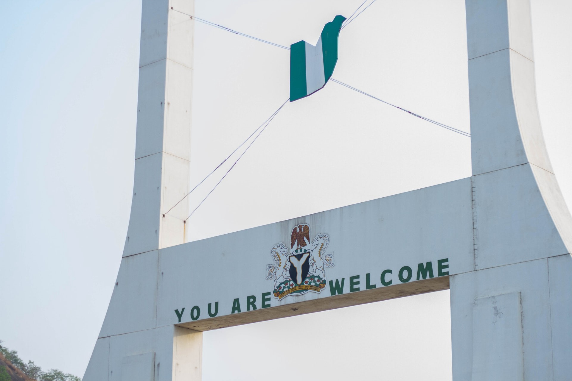 Welcome to Nigeria architecture, with green white green