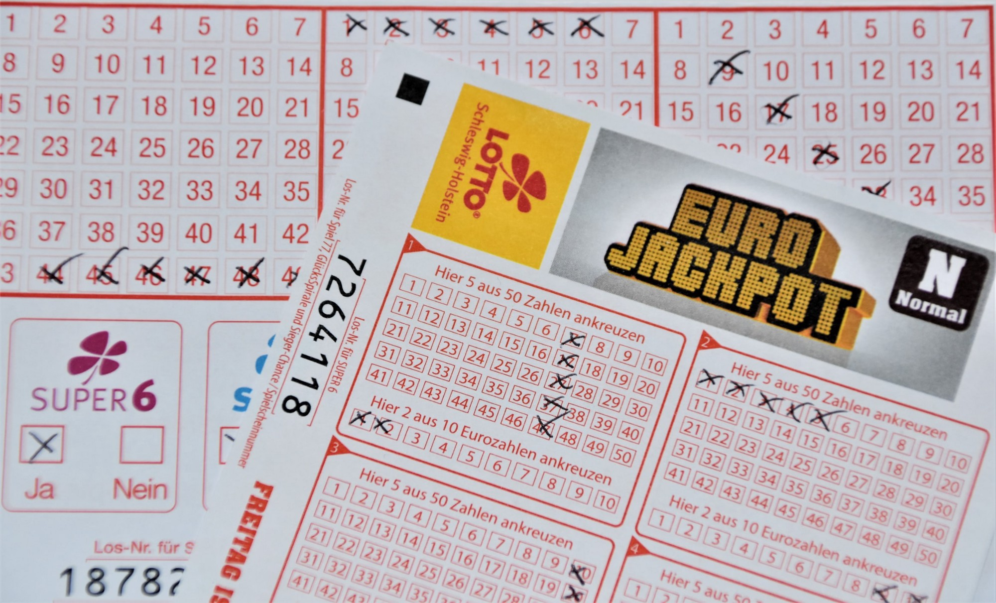 A set of lottery tickets