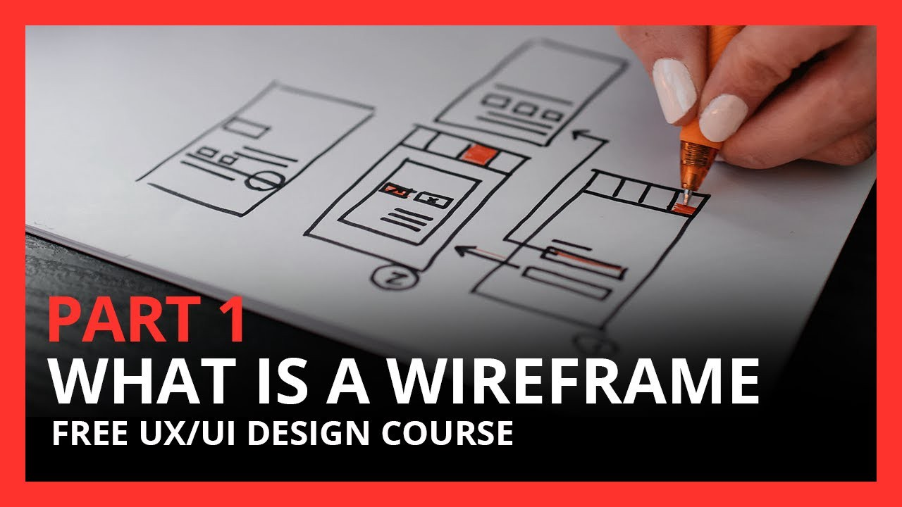 What is Wireframe? Tutorial for UX UI Beginners
