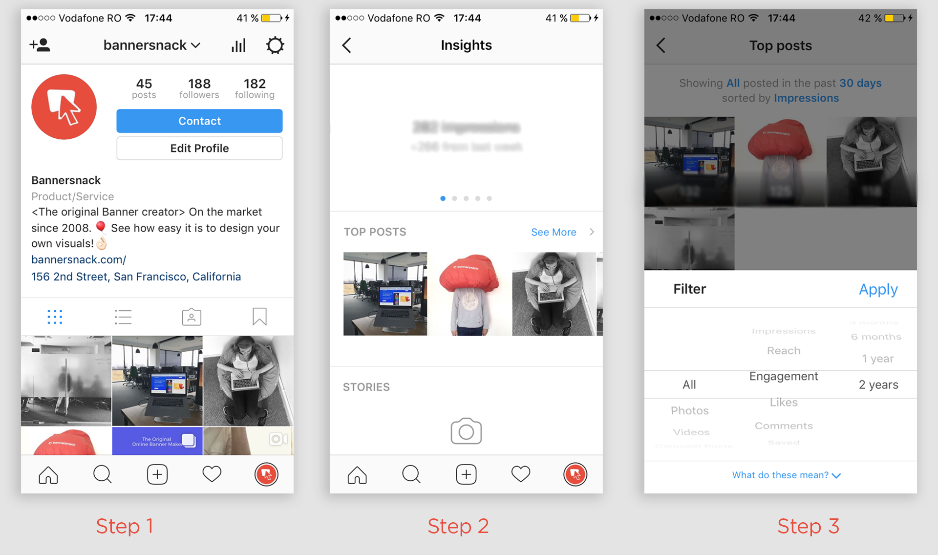 How can you see who has saved your instagram photos