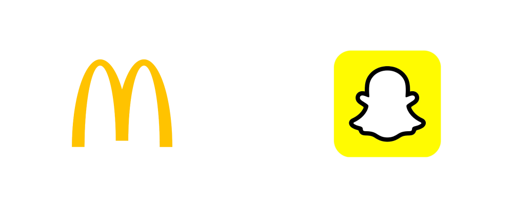 Brands using 'Yellow' as their main theme color