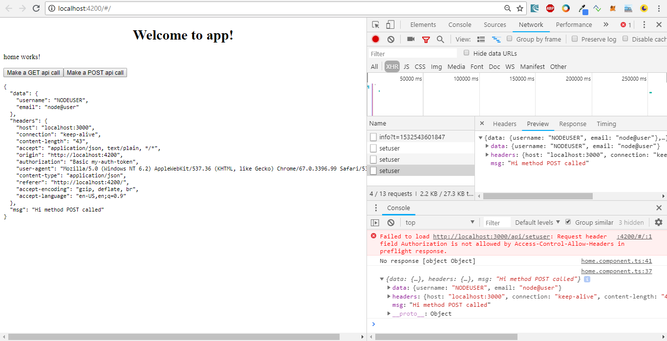 HOW TO SET HEADER('CONTENT TYPE APPLICATION - Using the