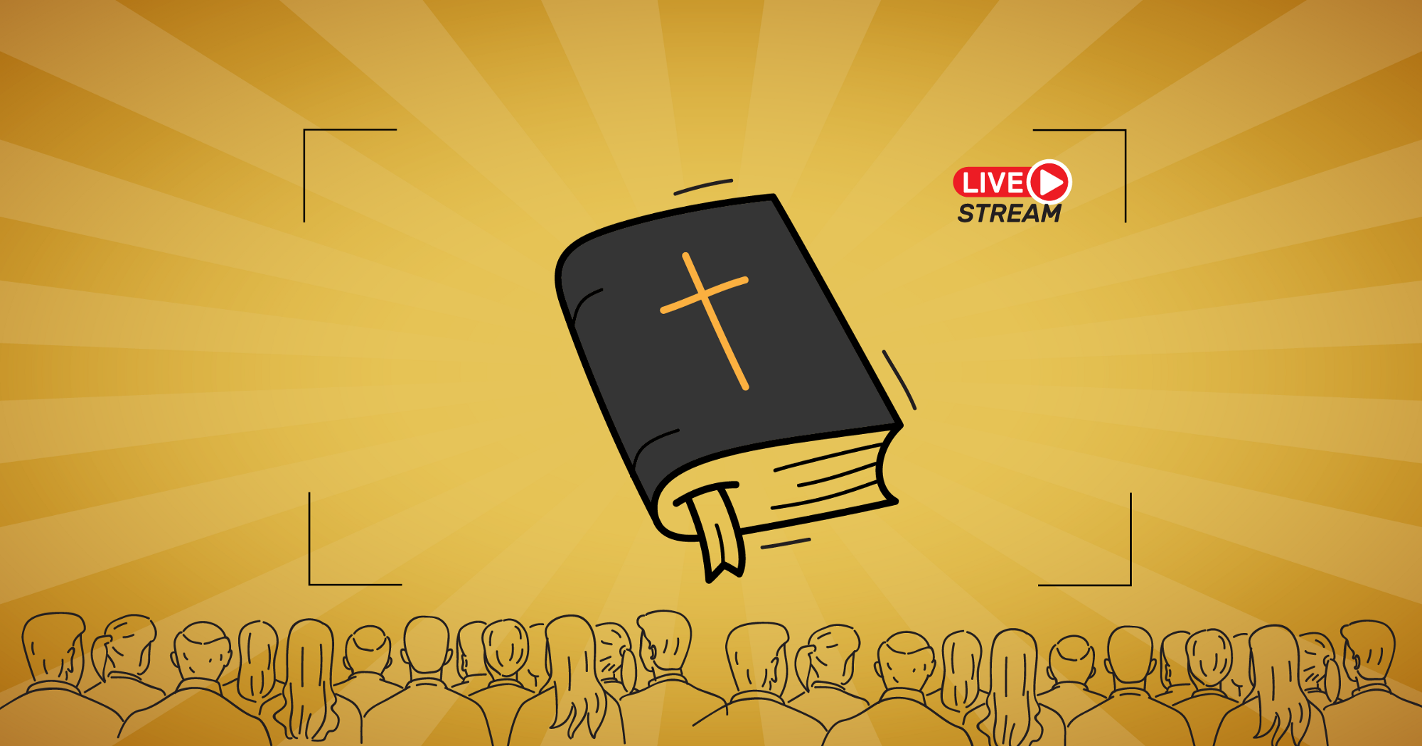 How can church benefit from live streaming?