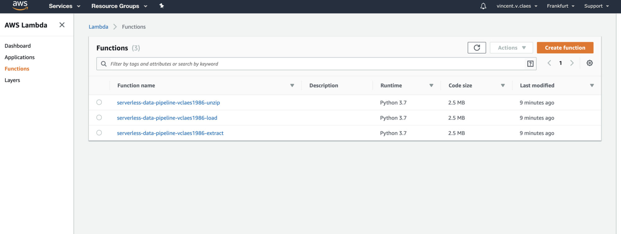 Build and Deploy A Serverless Data Pipeline on AWS - Towards Data