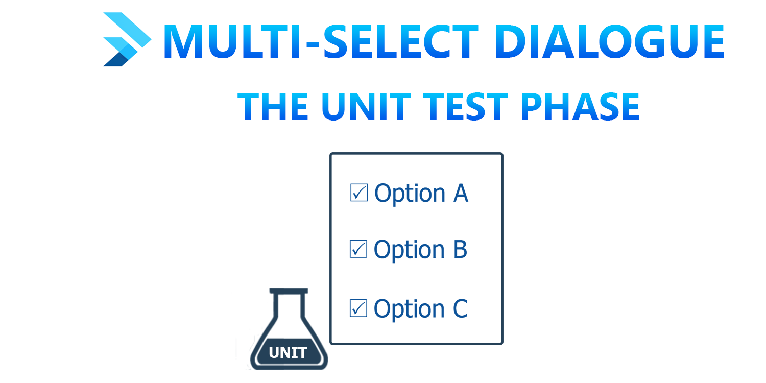 Multi-Select Dialogue in Flutter: The Unit Test Phase