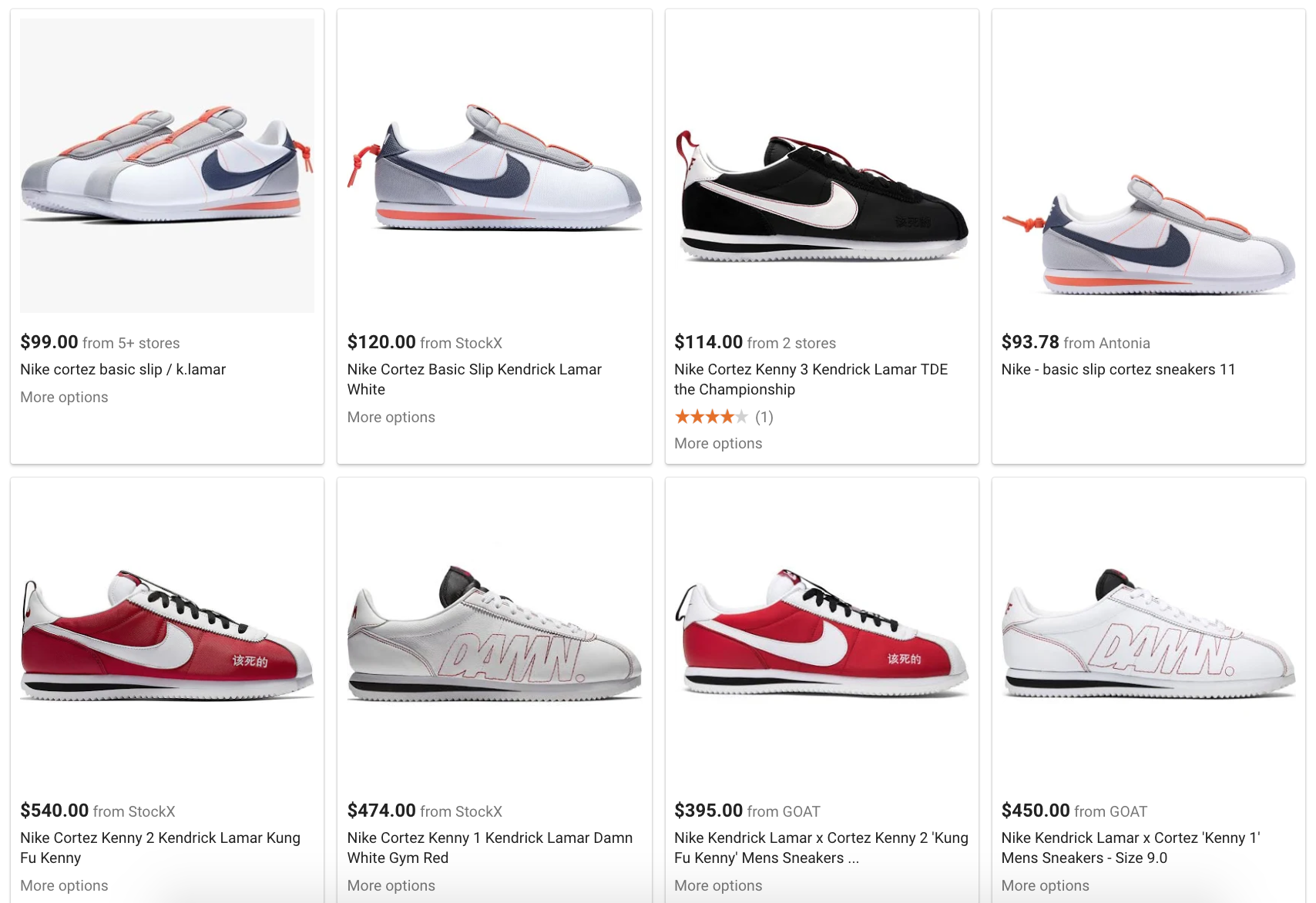 621f1a9d Google Shopping Results for Nike Cortez Kendrick Lamar