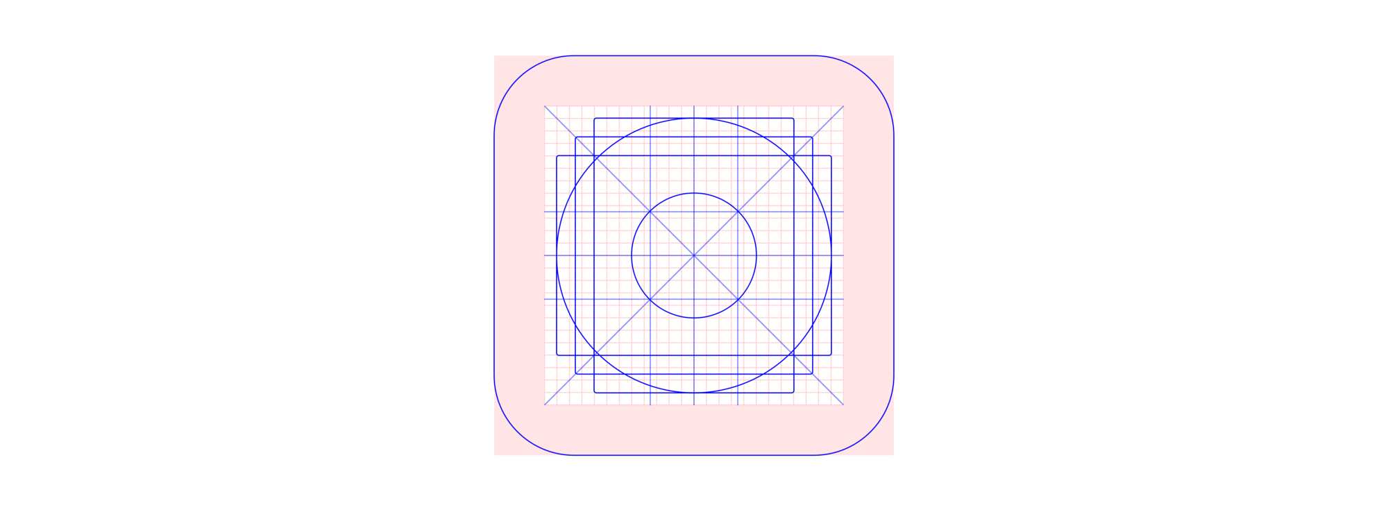 Material Play Store icon grid