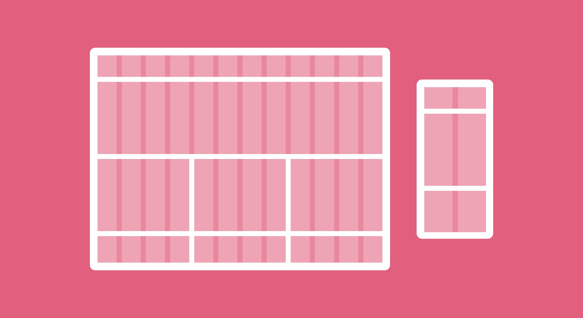 Getting started with grids in web design (designed by Monica Galvan)