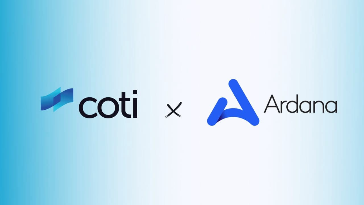COTI & Ardana's Partnership. We are happy to announce that we have… | by  COTI | COTI | Sep, 2021 | Medium