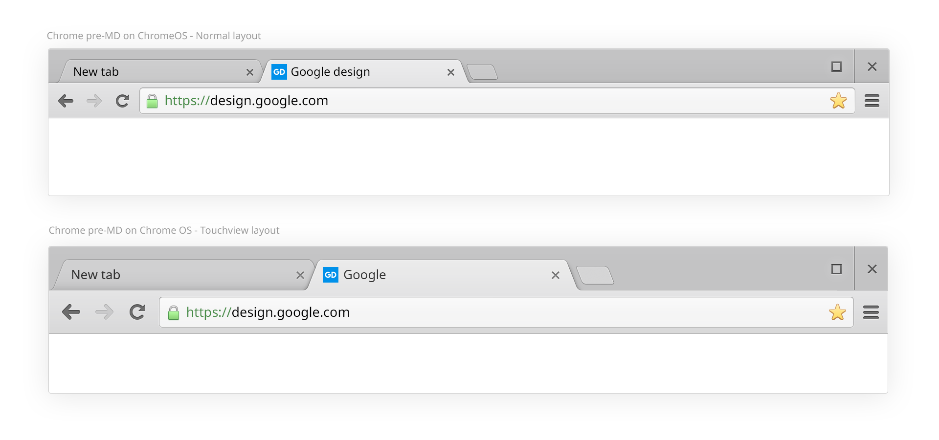 Redesigning Chrome Desktop - Google Design - Medium