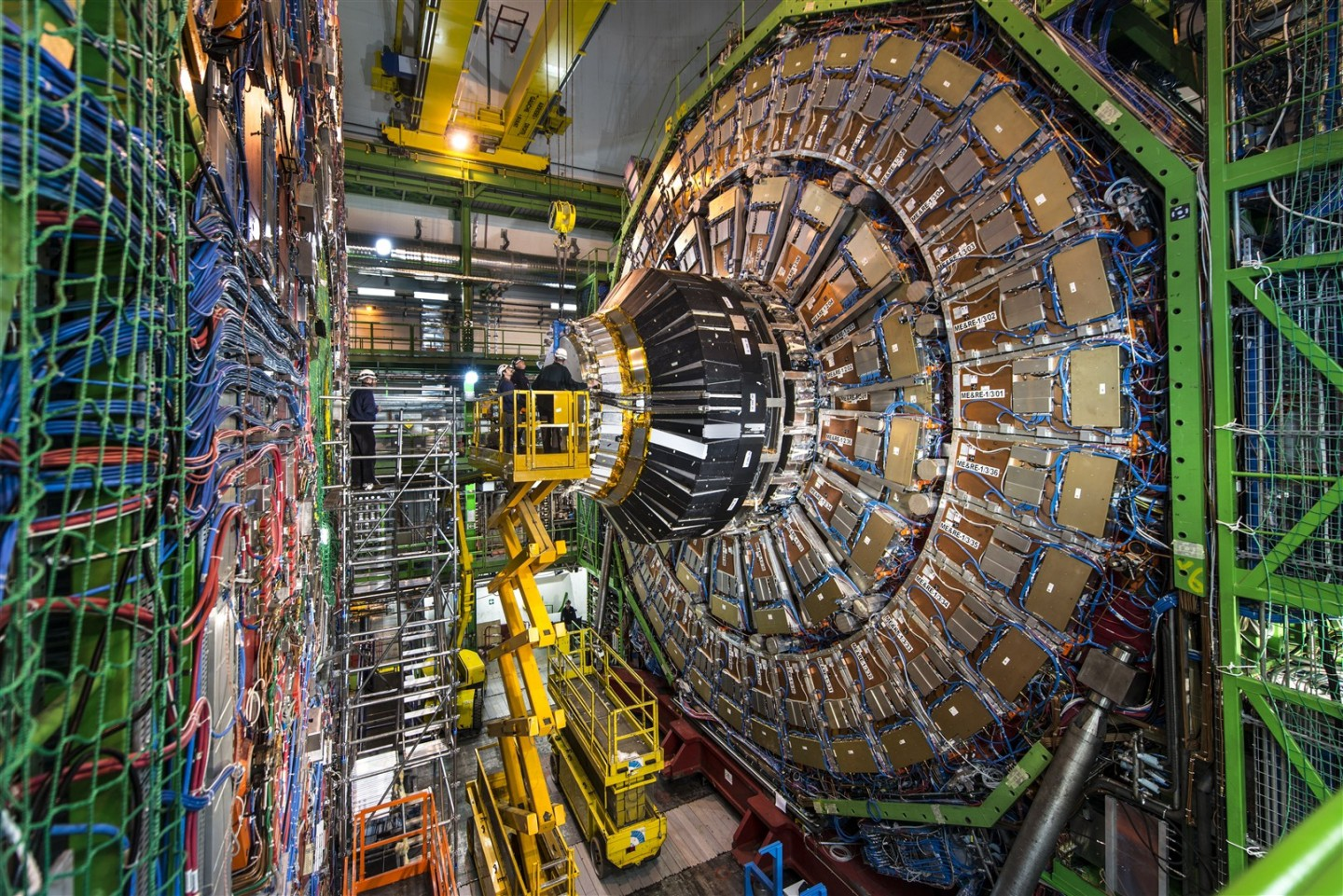 "A picture of the large hydron collider, ""A prediction on the Graviton"""