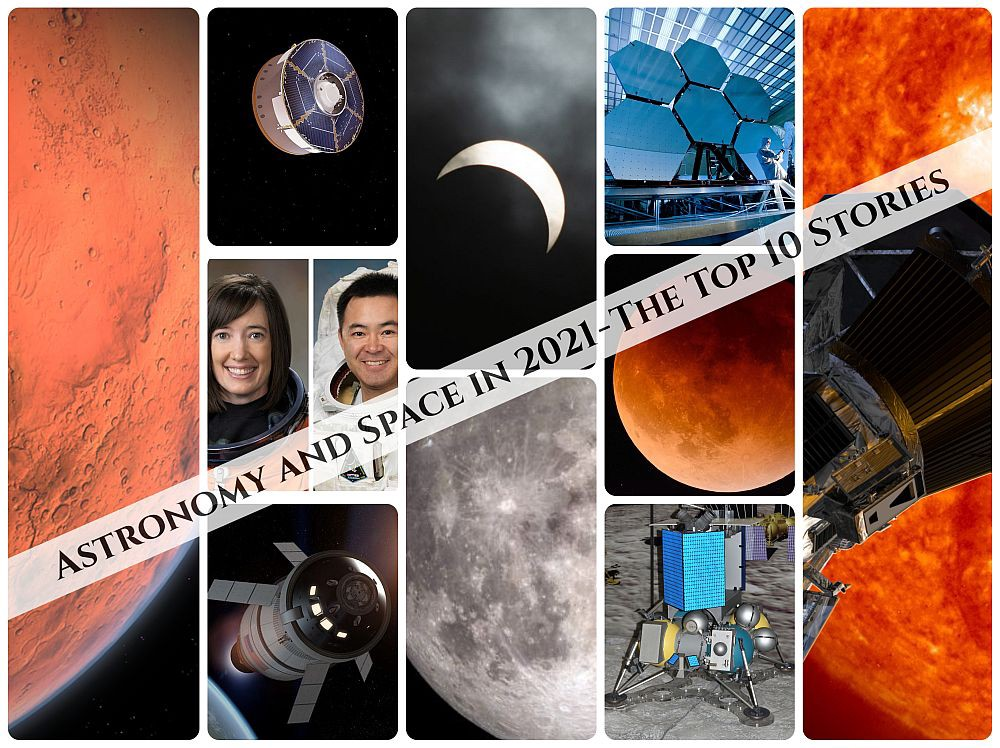 News from space in 2021 should include advances in space exploration and our knowledge of Mars and Moon.