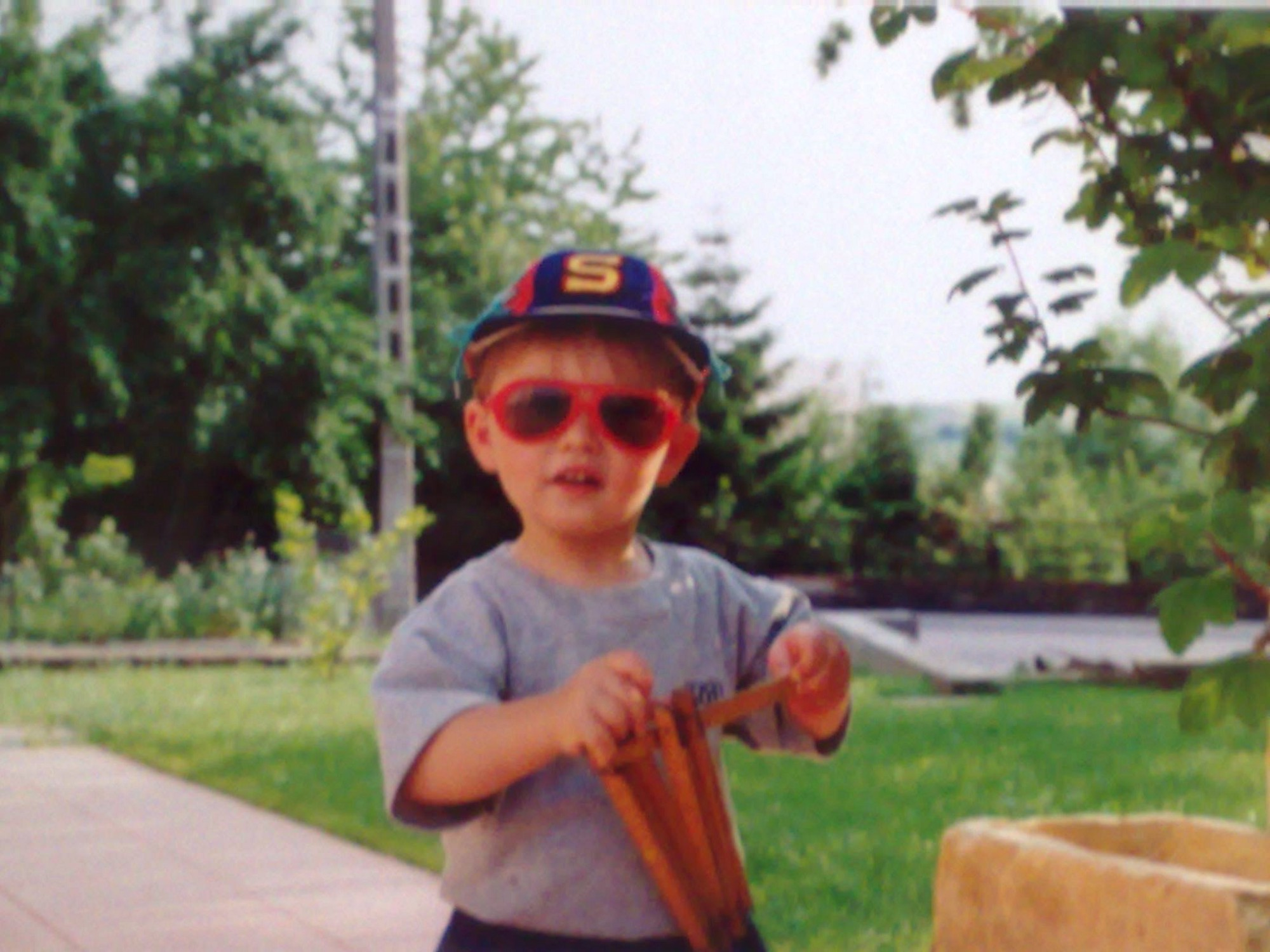 Me when I was a kid