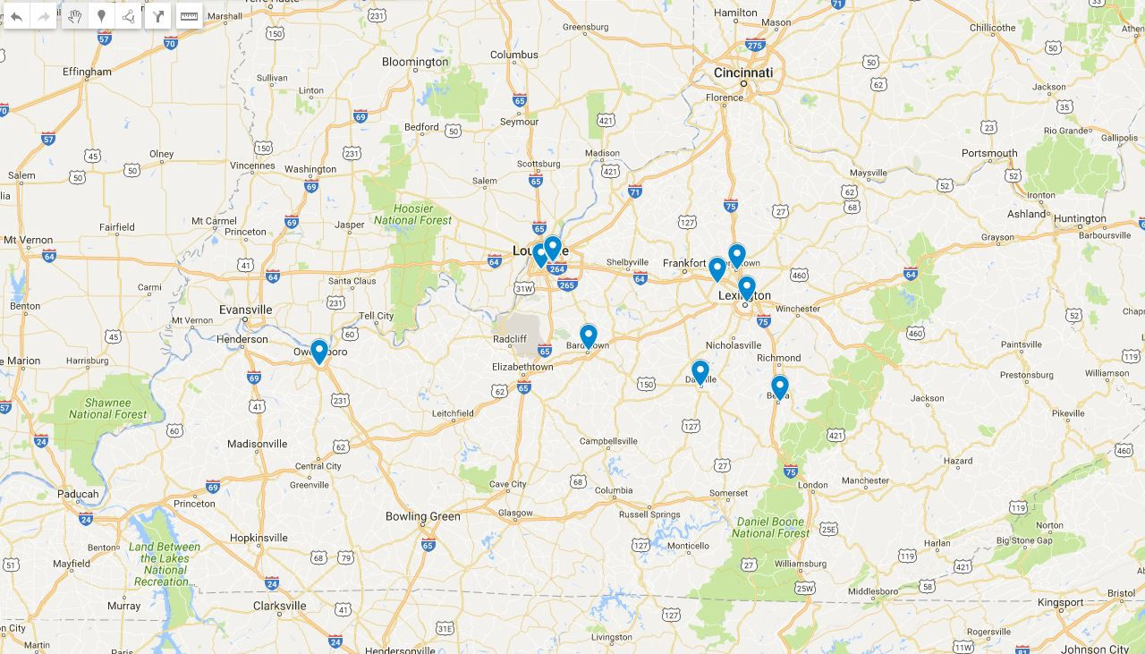 The Heart of the Bluegr - In a State of Migration - Medium on physical geography of kentucky, physical features of lexington kentucky, detailed geologic maps of kentucky,