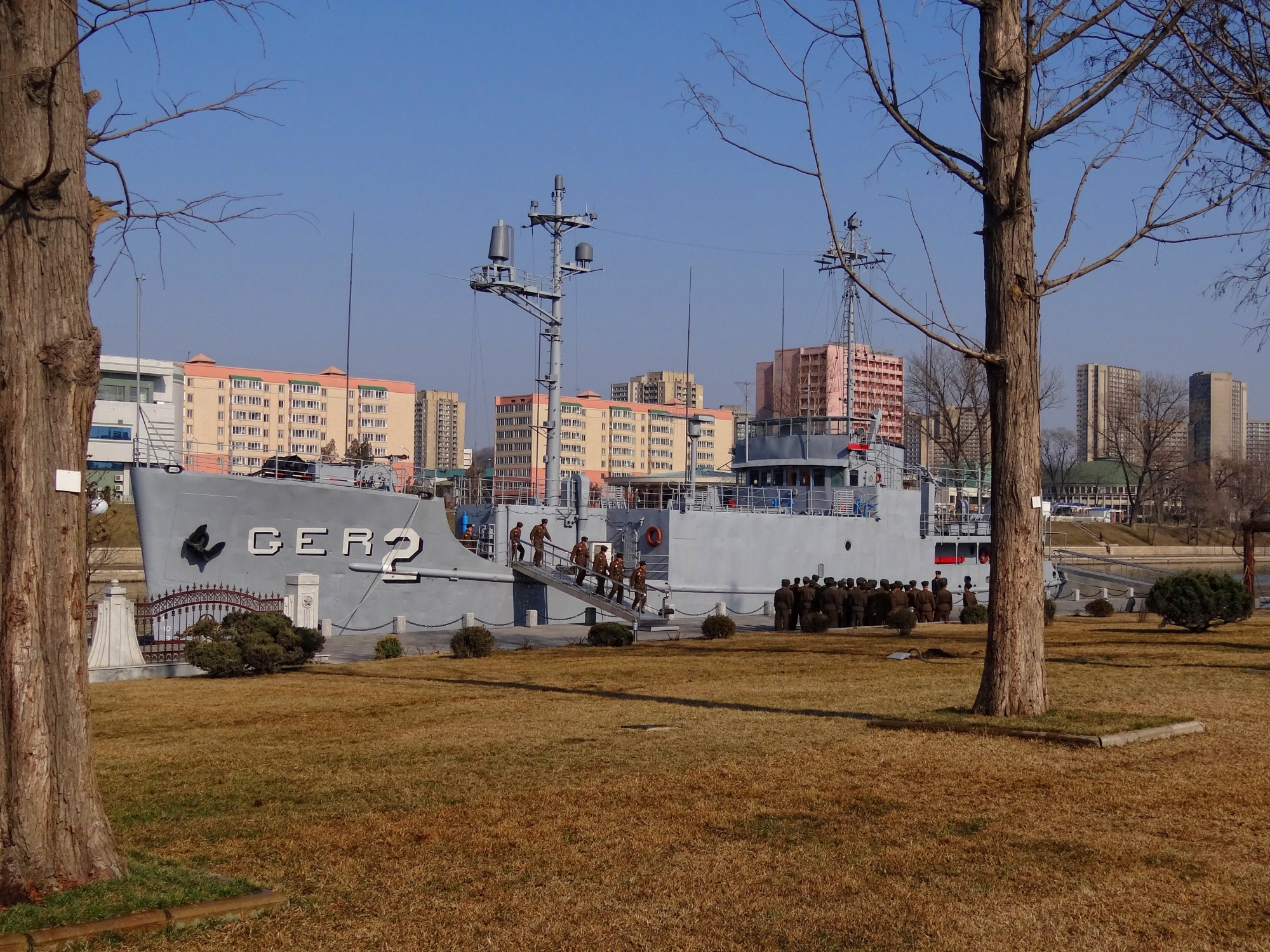 In 1968, North Korea captured a U S  war ship and tortured the 82