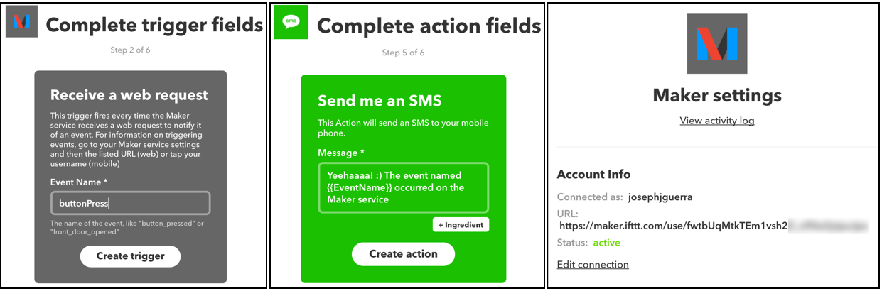 AWS IoT Button setup — with the new mobile app and IFTTT!