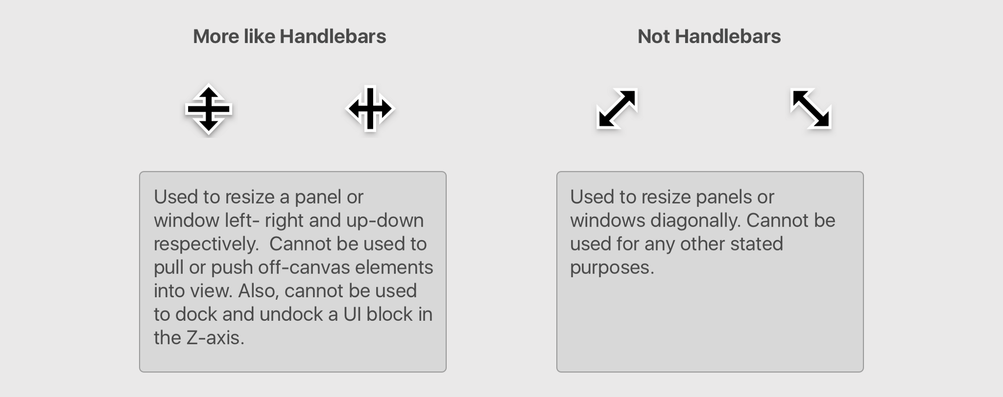 Handlebars in UI Design - UX Collective