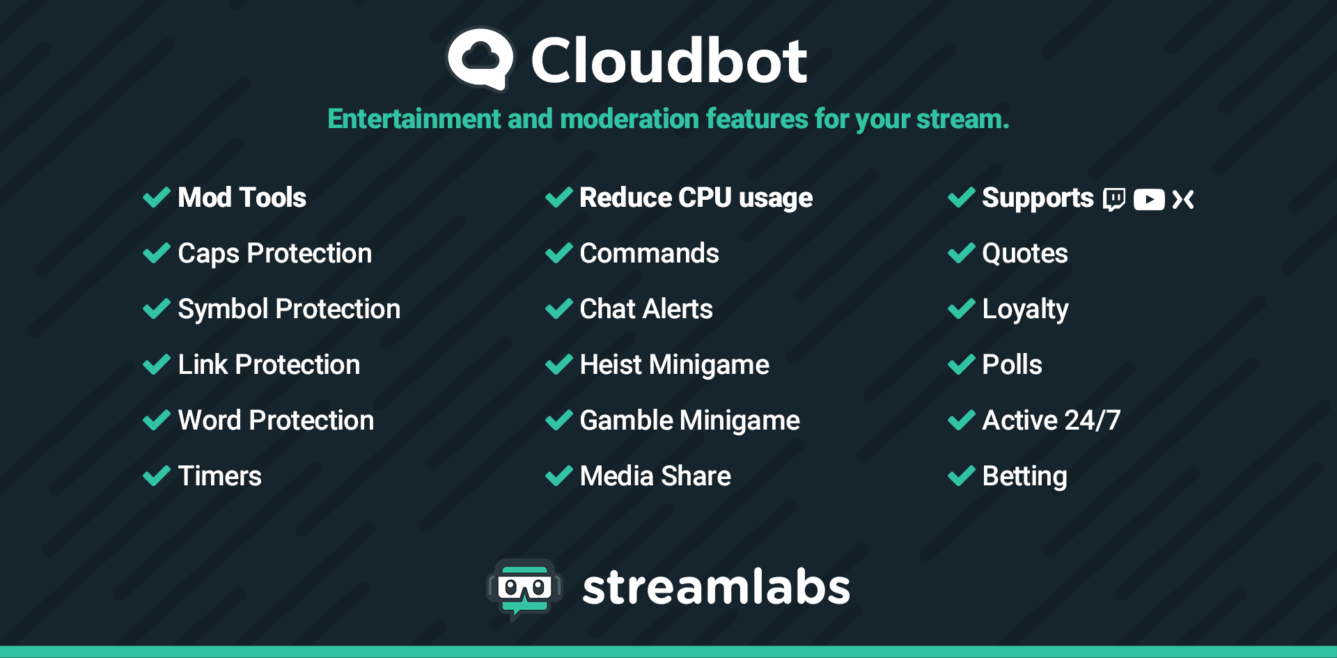 Streamlabs Cloudbot Has Landed - Streamlabs Blog