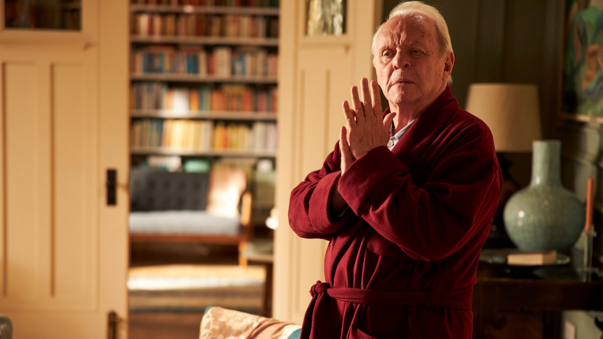 Anthony Hopkins in the drama The Father.