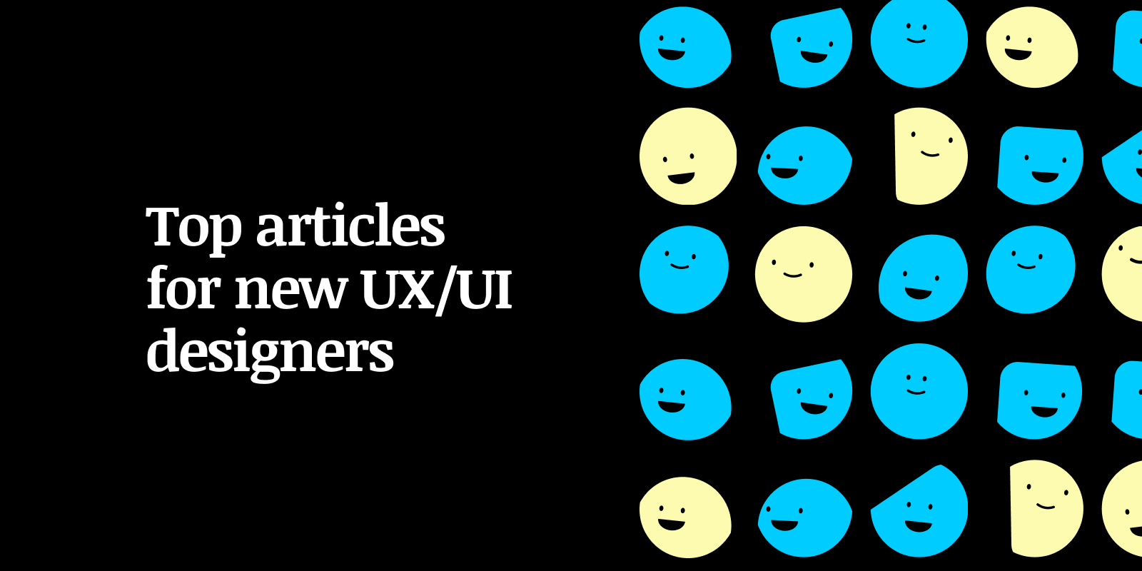 Top articles for new UX and UI designers