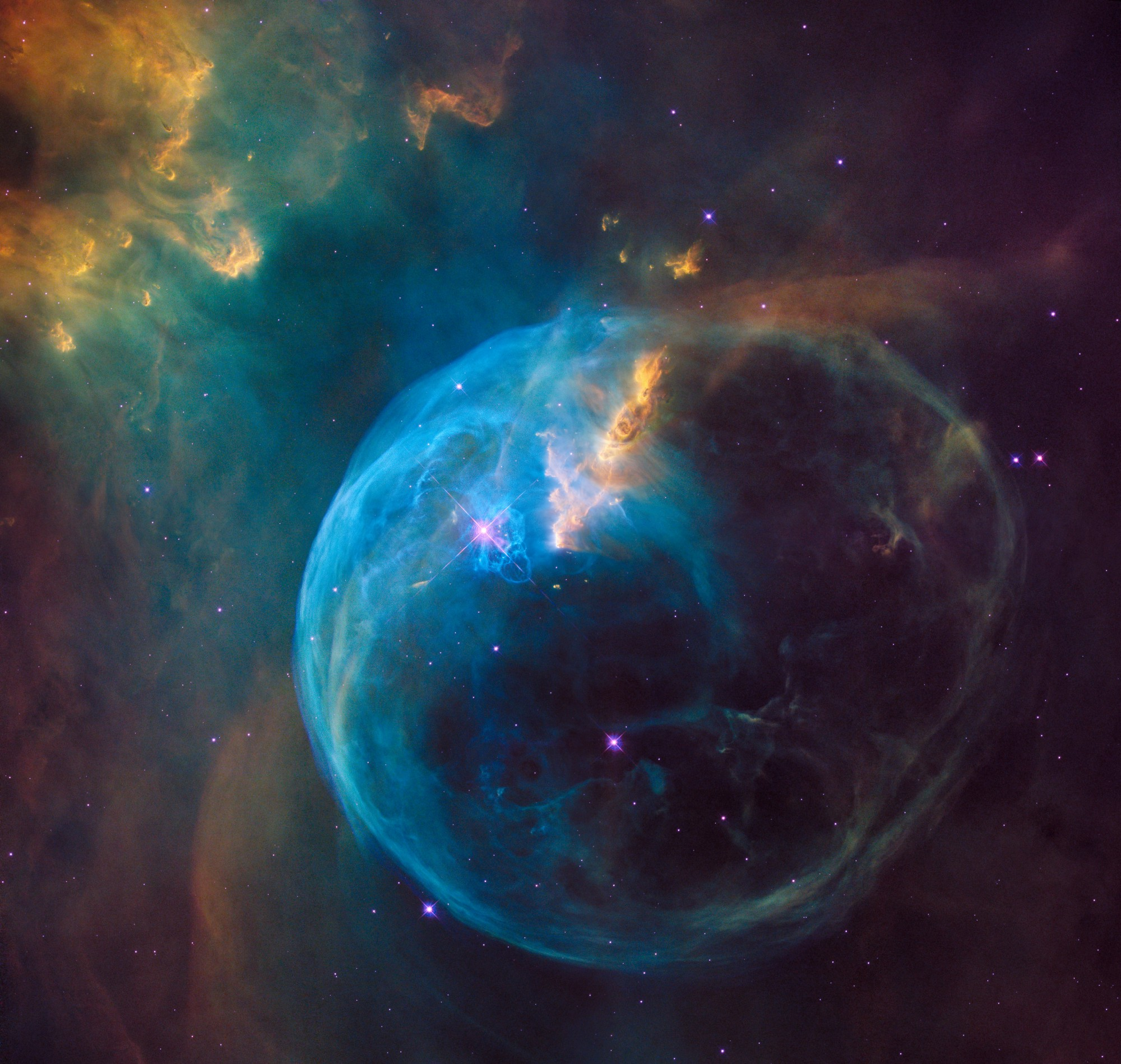 Image of space from NASA