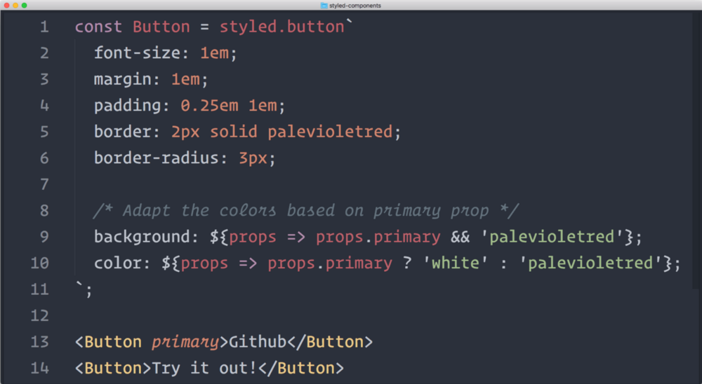 9 CSS in JS Libraries you should Know in 2019 - Bits and Pieces