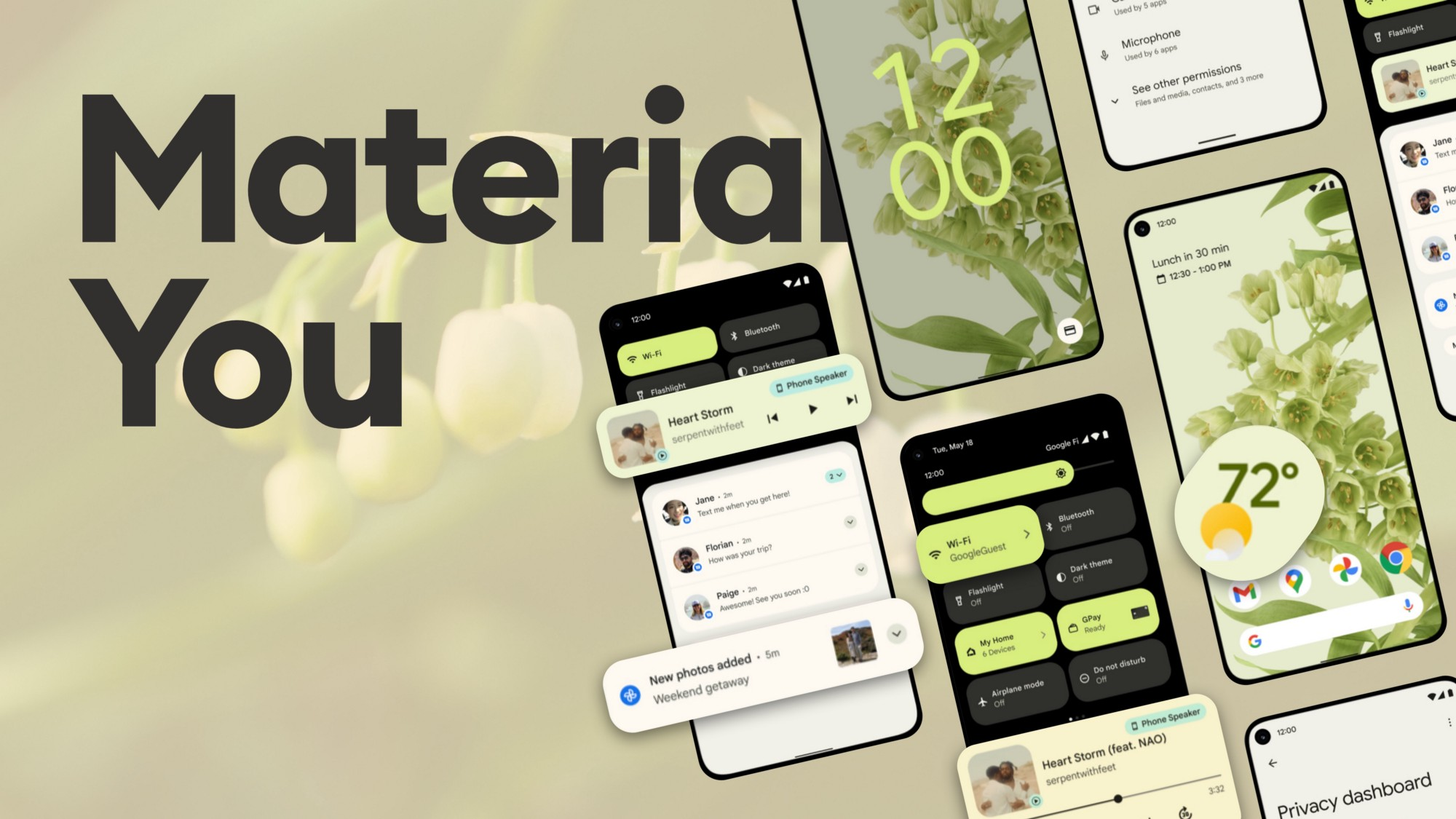 Material You UI Design style