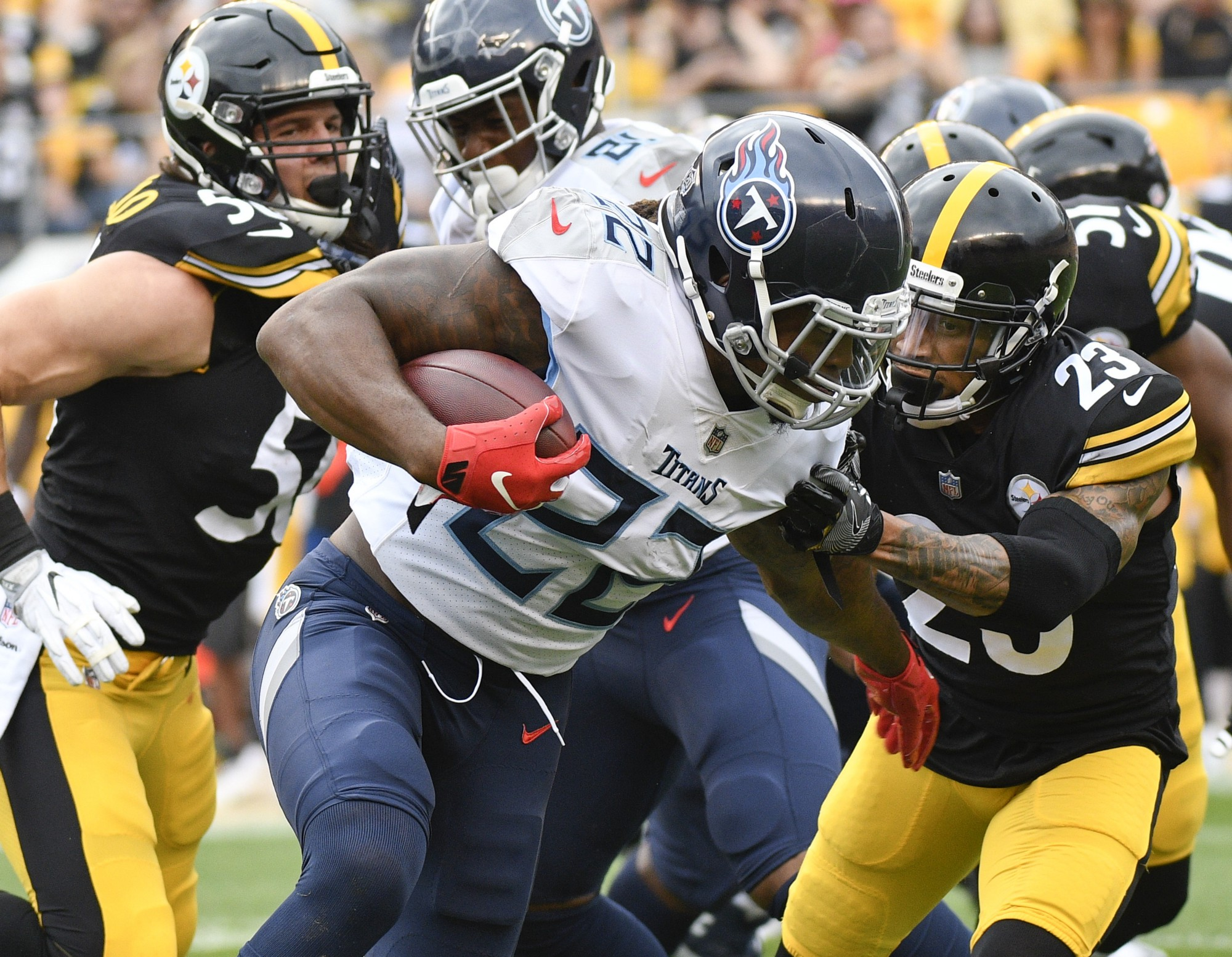 Will Derrick Henry and the Tennessee Titans continue their amazing run or will the Steel Curtain win this for Pittsburgh?