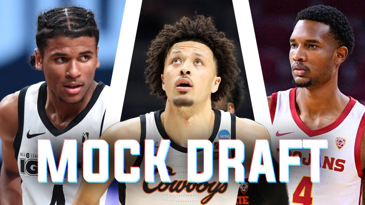 Cade Cunningham, Evan Mobley, and Jalen Green are at the top of most draft boards. Will they go top 3 on draft day?