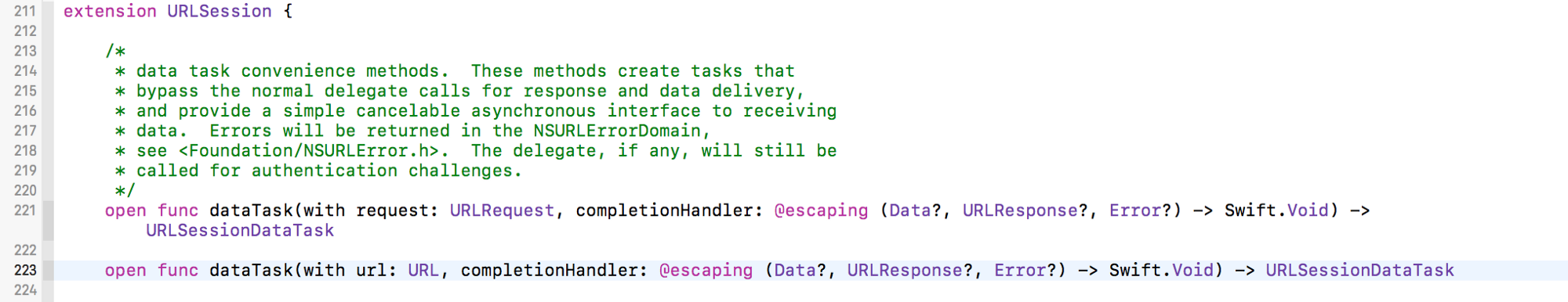 Swift Closure — @escaping, @autoclosure? - Living is Sharing