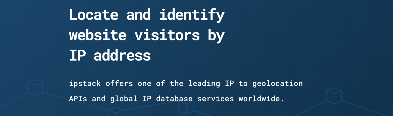 Locate and identify website visitors by IP address - codeburst