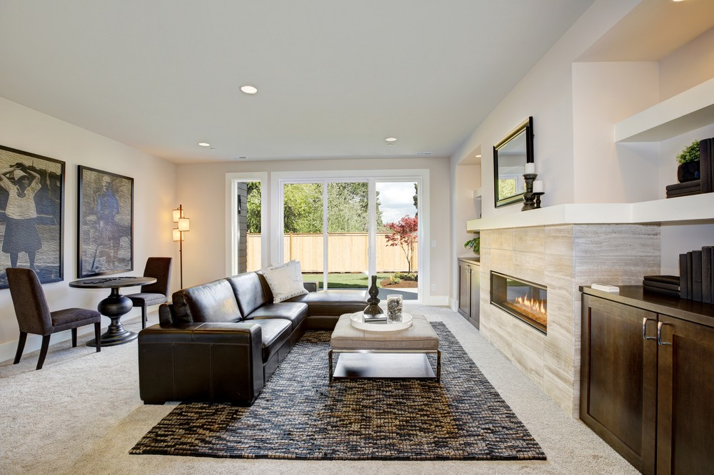 interior design ideas for rectangular living room