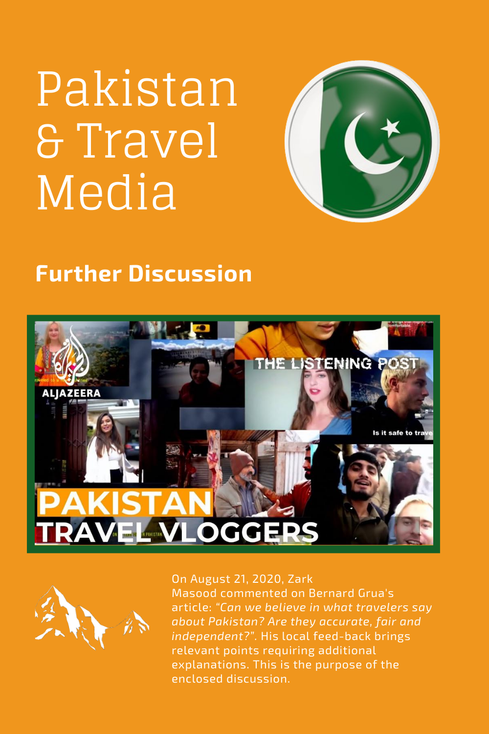 Bernard Grua — Pakistan on Travel Media