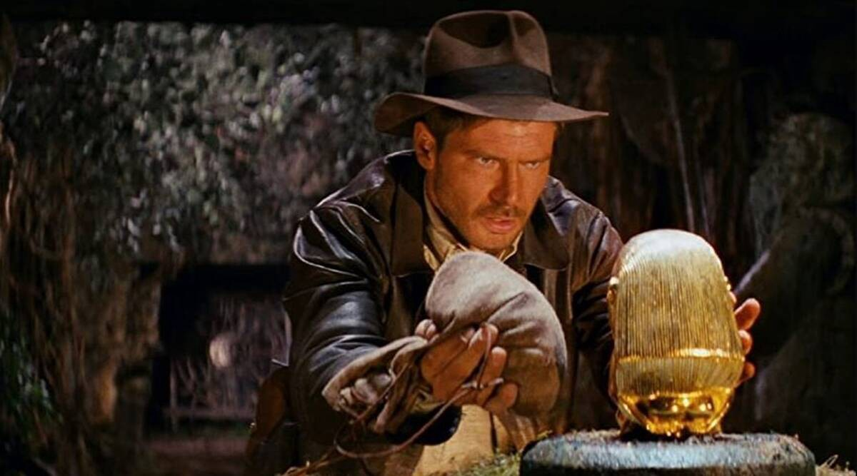Harrison Ford as Indiana Jones, in 'Raiders of the Lost Ark'