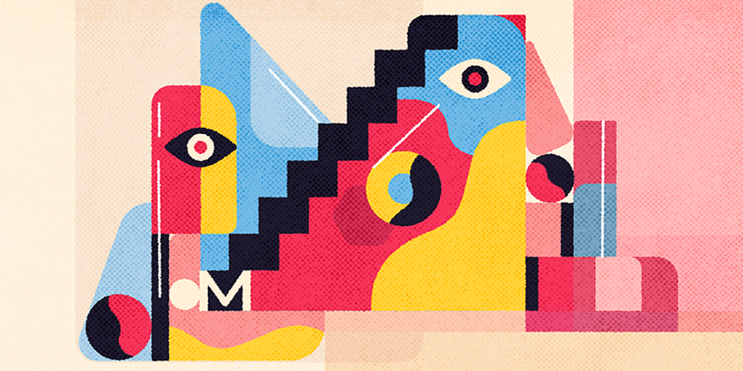 Intro Banner for the visual hierarchy from dribbble