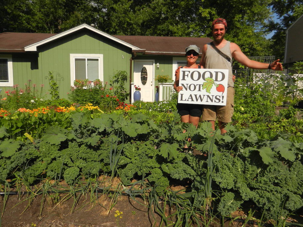 Grwing food not lawns